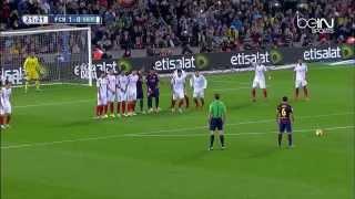 Fc Barcelone Vs Fc Seville 5/1 Resume