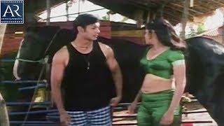 Swarnam Movie Scenes | Reshma with Stranger in Stable | AR Entertainments