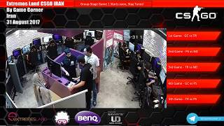 Game Corner(LT) vs Reapers - Iran Finals - ME Extremesland CSGO Qualifier