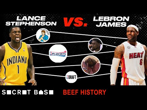 Lance Stephenson didn t follow in LeBron s footsteps so he spent 6 years bugging him Beef History