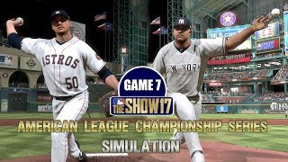 MLB The Show 17   Yankees vs Astros American League Championship Series Game 7 Simulation