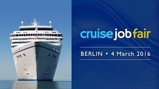Cruise Job Fair - Berlin 2016