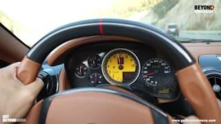 جولة داخل سيارة فادي اندراوس الفاخرة - Beyond Starac Arabia Fadee Andrawos Driving a Ferrari