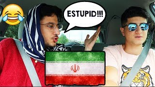 DRIVING WITH MY PERSIAN MOM!!!
