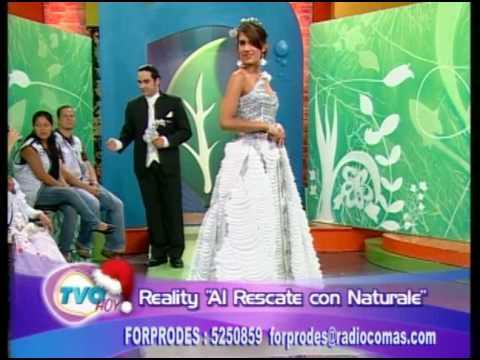 Moda de reciclaje Forprodes TVO Hoy