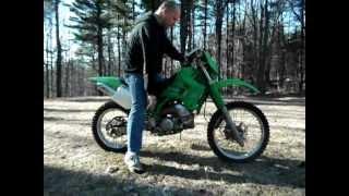 1996 Kawasaki KDX200 cold start