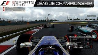 F1 ESPORTS - ROUND 1 - CHINA (HIGHLIGHTS)