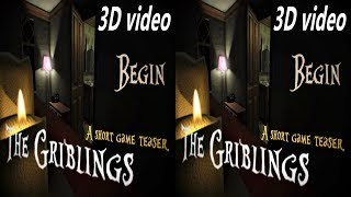 3D VR box TV horror The Griblings video Side by Side SBS google cardboard