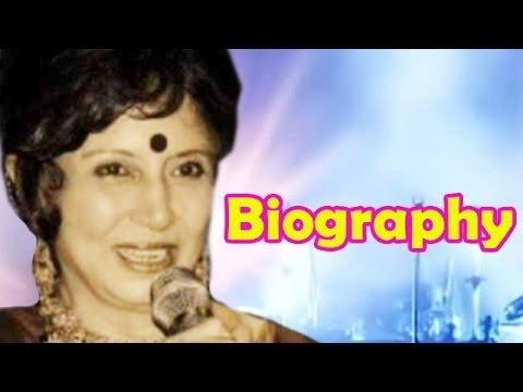 Sharda Rajan Iyengar | Biography | Indian Playback Singer
