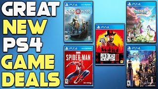 NEW PS4 GAME DEALS  - AWESOME JRPG DEAL + MORE!
