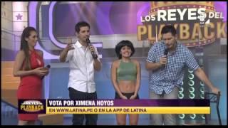 Este es el sensual playback de Ximena Hoyos en LRDP