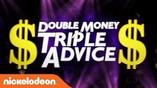 Double Money, Triple Advice 2 w/ Double G, Bunny, & Ruthless | Game Shakers | Nick