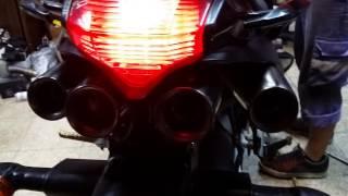 Yamaha FZ6S 06   LASER 四出喉試音