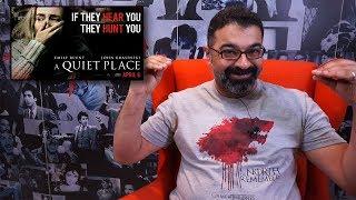 مراجعة فيلم A Quiet Place بالعربي | فيلم جامد