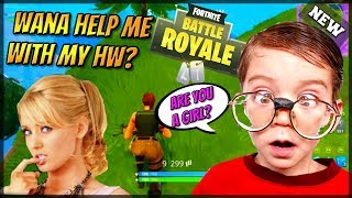 GIRL VOICE TROLLING CONFUSED KIDS IN SQUADS