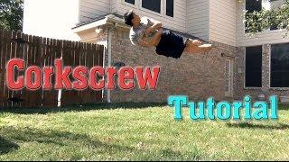 How to do a Corkscrew / Cork 360 | Tutorial
