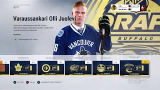 NHL 17 HUT: UUSIA DRAFTI SETTEJÄ JA PAKKOJA!