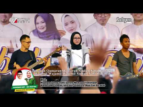 Qomarun (Lirik) - Sabyan Gambus Live Semarang