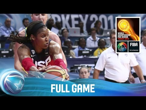 watch Australia v USA - Full Game - Semi Final - 2014 FIBA World Championship for Women