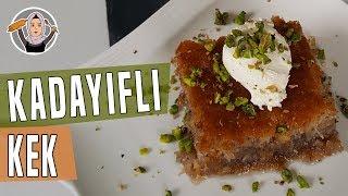 Kadayıflı Kek Tarifi | Hatice Mazı ile Yemek Tarifleri