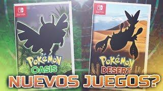 POKEMON DESERT Y POKEMON OASIS!!! FILTRACIONES 8 GENERACION RUMORES