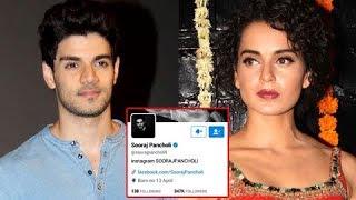 Sooraj Pancholi Quits Twitter After Posting About Kangana Ranaut