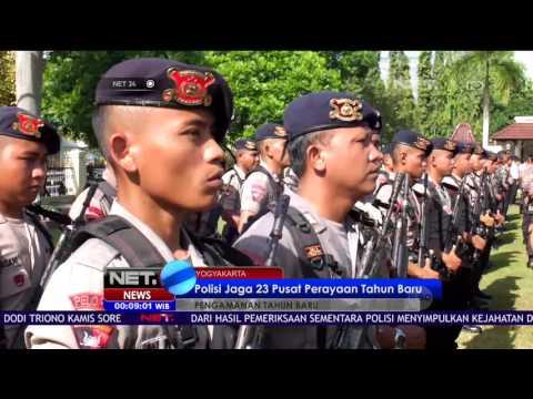 Polisi Jaga 23 Pusat Perayaan Tahun Baru - NET 24