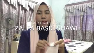 tutorial shawl INAS #dudaterlajaklaris by ARFAHIJAB