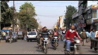 Driving through Gwalior city- Madhya Pradesh