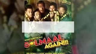 Golmaal Again trailer  / Ajay Devgan / Rohit setty / parinity chopra & Tabbu