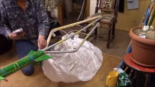 Juhan Rodrik D.I.Y. Rocket Lamp