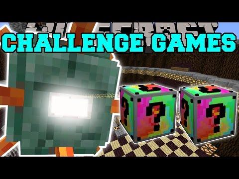 Minecraft: TITANIC GUARDIAN CHALLENGE GAMES - Lucky Block Mod - Modded Mini-Game