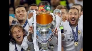 Meriahnya Selebrasi Real Madrid Setelah Juara Liga Champions 2016