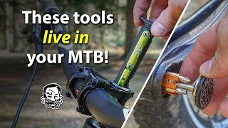 5 MTB Tools that Live in your Bike