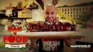 Man v. Food Italia - La sfida della botticella