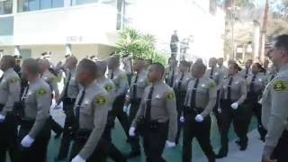 LASD Recruit Graduation Class No 415