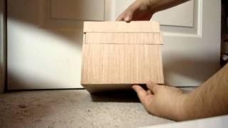Homemade Japanese Puzzle Box (The Redbox)