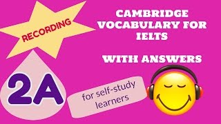 Cambridge Vocabulary For IELTS  2A Audio