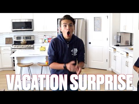 SURPRISING OUR KIDS WITH A LAST MINUTE FAMILY VACATION
