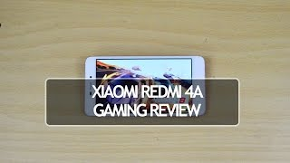 Xiaomi Redmi 4A Gaming Review with Heating Test
