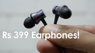 Mi Basic Budget Earphones For Rs 399 Review