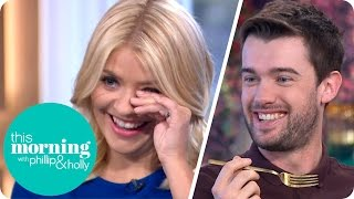 Jack Whitehall Shocks Everyone By Misbehaving With A Mug Of Carbonara | This Morning