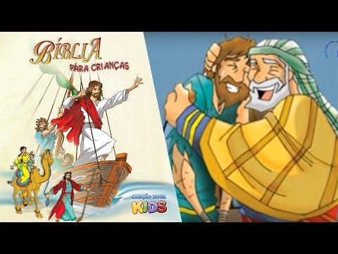 Bíblia para Crianças O filho pródigo