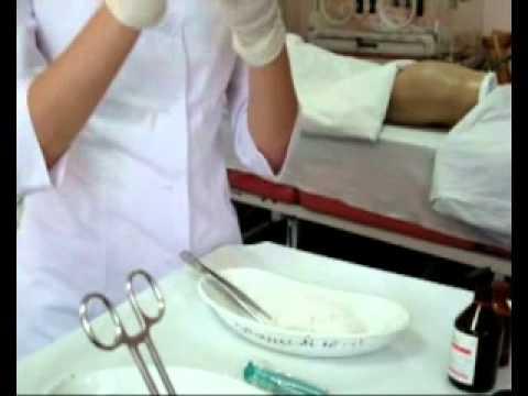 Как сделать пробу антибиотик