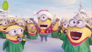 Sing Trailer Minions Song Movie - Jingle Bells - Merry Christmas HD