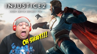 THIS GAME FIRE AS F#%K!!! [INJUSTICE 2] [GAMEPLAY!]