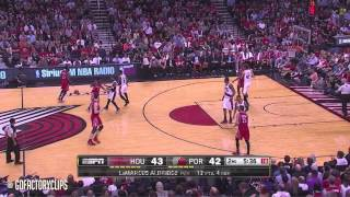 James Harden Full Highlights at Trail Blazers 2014 Playoffs West R1G6 - 34 Pts