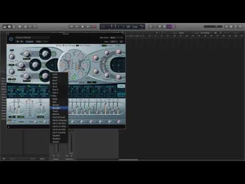 Logic Pro X - How To Make A House Bass (ES2)