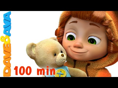 Teddy Bear Teddy Bear Turn Around Nursery Rhymes for Kids and Children Baby Song Dave and Ava