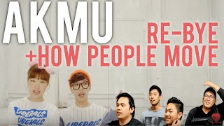 [4LadsReact] Akdong Musician | How People Move + Re-bye MV Reaction